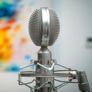 گویندگی-ضبط صدا-میکروفون حرفه ای-مهرجویی